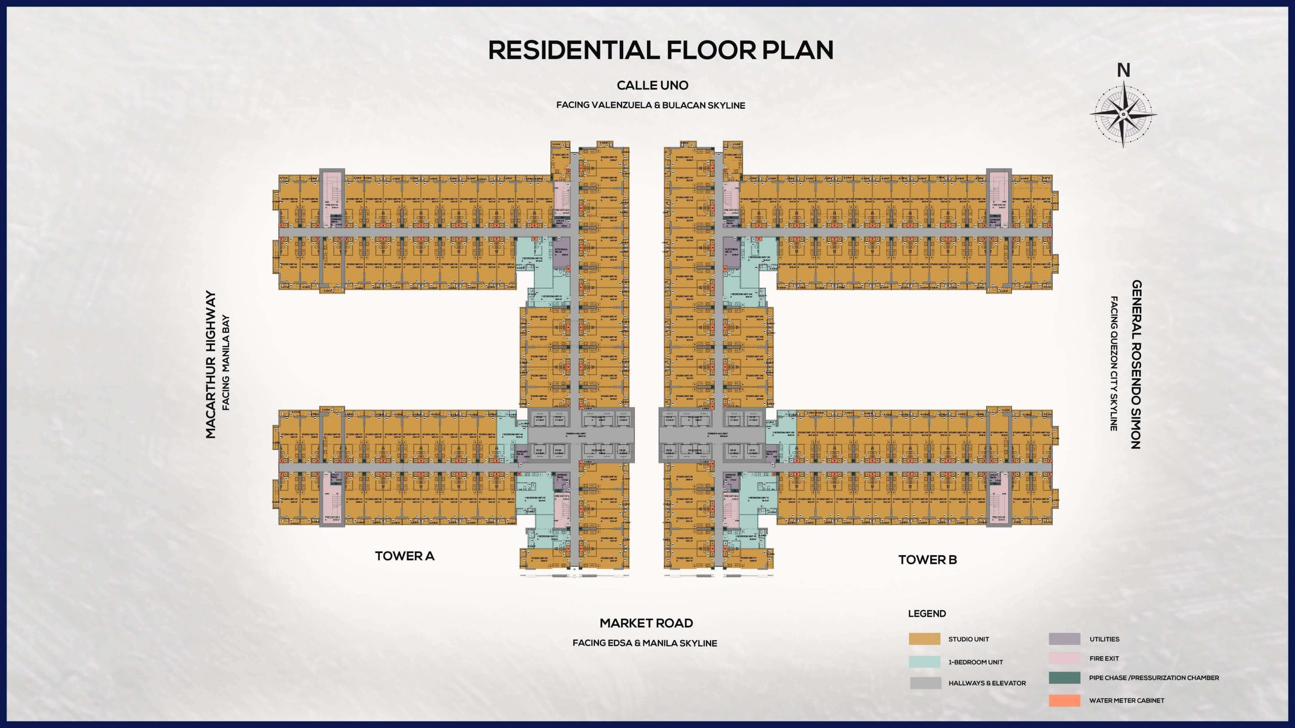 Victoria Sports Tower Monumento Floorplan