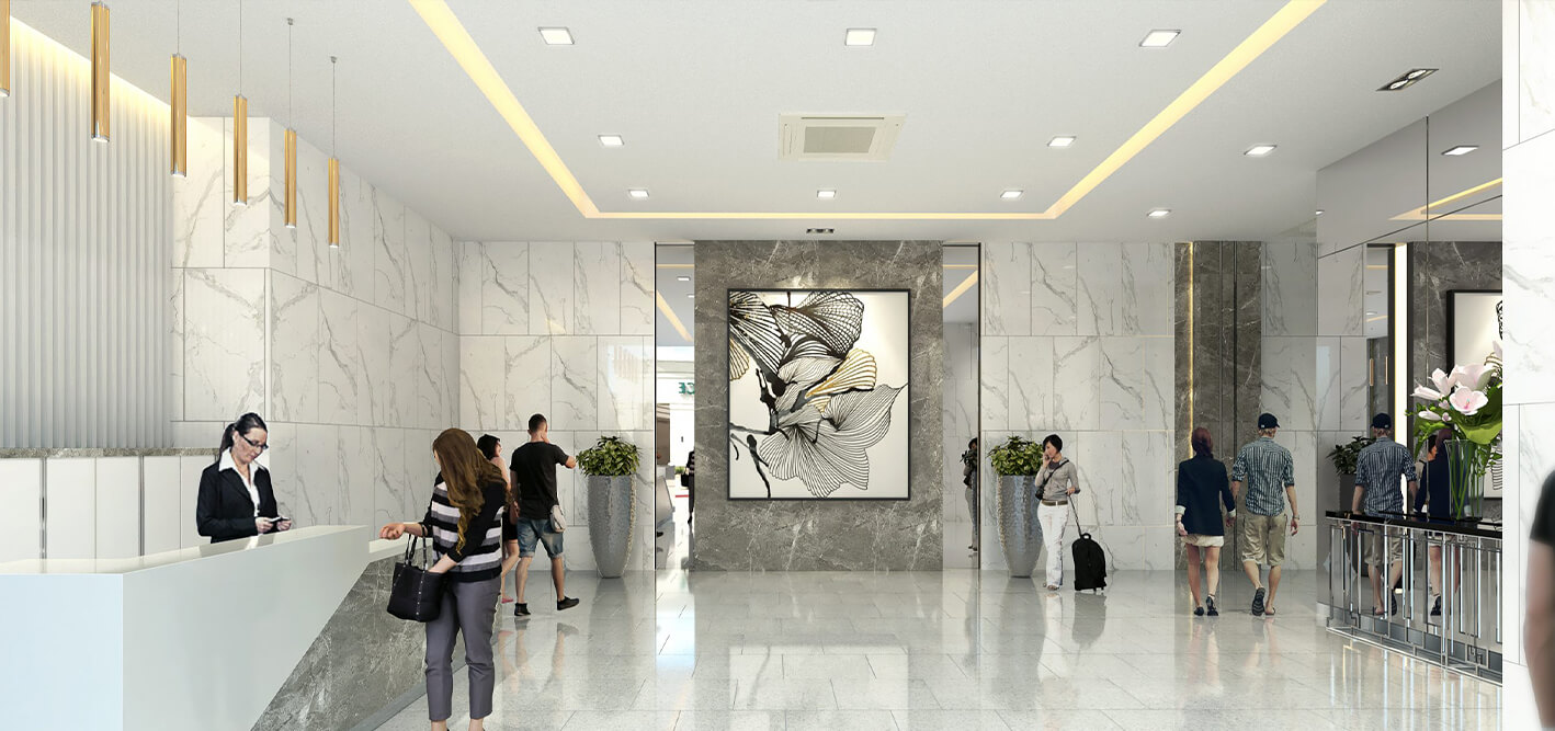 Victoria Sports Tower Monumento Lobby 1