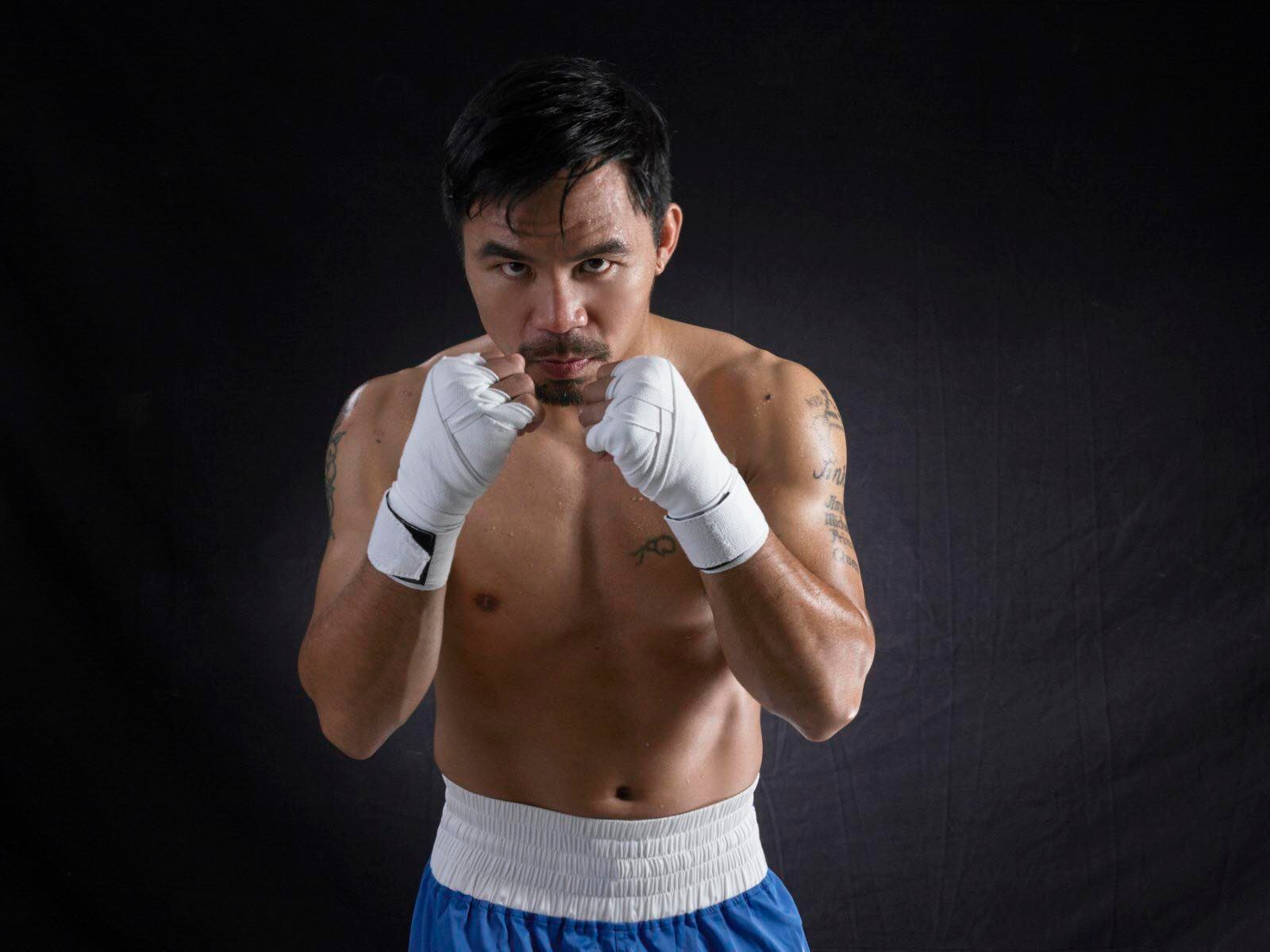 Manny Pacquiao endorses Victoria Sports Tower Monumento